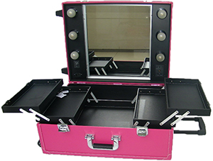 Salon Services Mobile Beauty Station (pink)