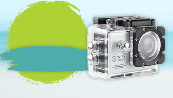 Free action camera when you spend €100 within selected brands