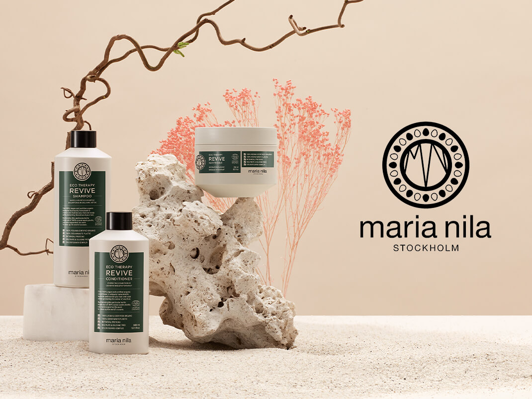 Maria Nila (brand log) Eco Therapy Revive.