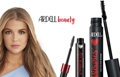 Shop our new Ardell Mascaras as seen in The Beauty Edit