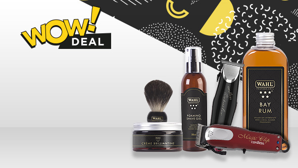 Save 20% on WAHL Electrical & Academy Styling ranges