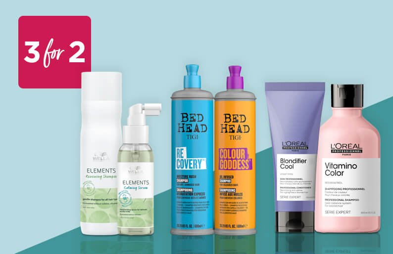 3 For 2 Hair Care. Refresh your locks with essential care ranges from Loreal Serie Expert