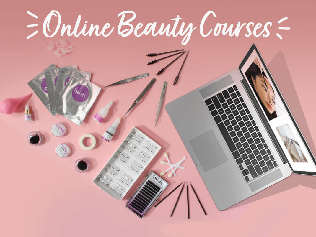 Calling all aspiring beauticians & hair stylists. We now have online hair & beauty courses available including lash lift, brow lamination & waxing.