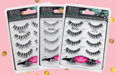 Save 25% on Ardell Strip Lashes