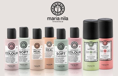 3 for 2 on 100ml Maria Nila Shampoo and Conditioners. Perfect for holidays.