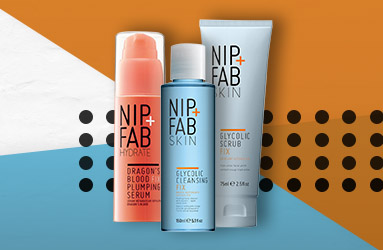 Stock up with our 3 for 2 on Nip+Fab Skincare offer.