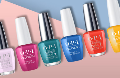 Stock up with our save 25% promotion on OPI nail polish. While stocks last.