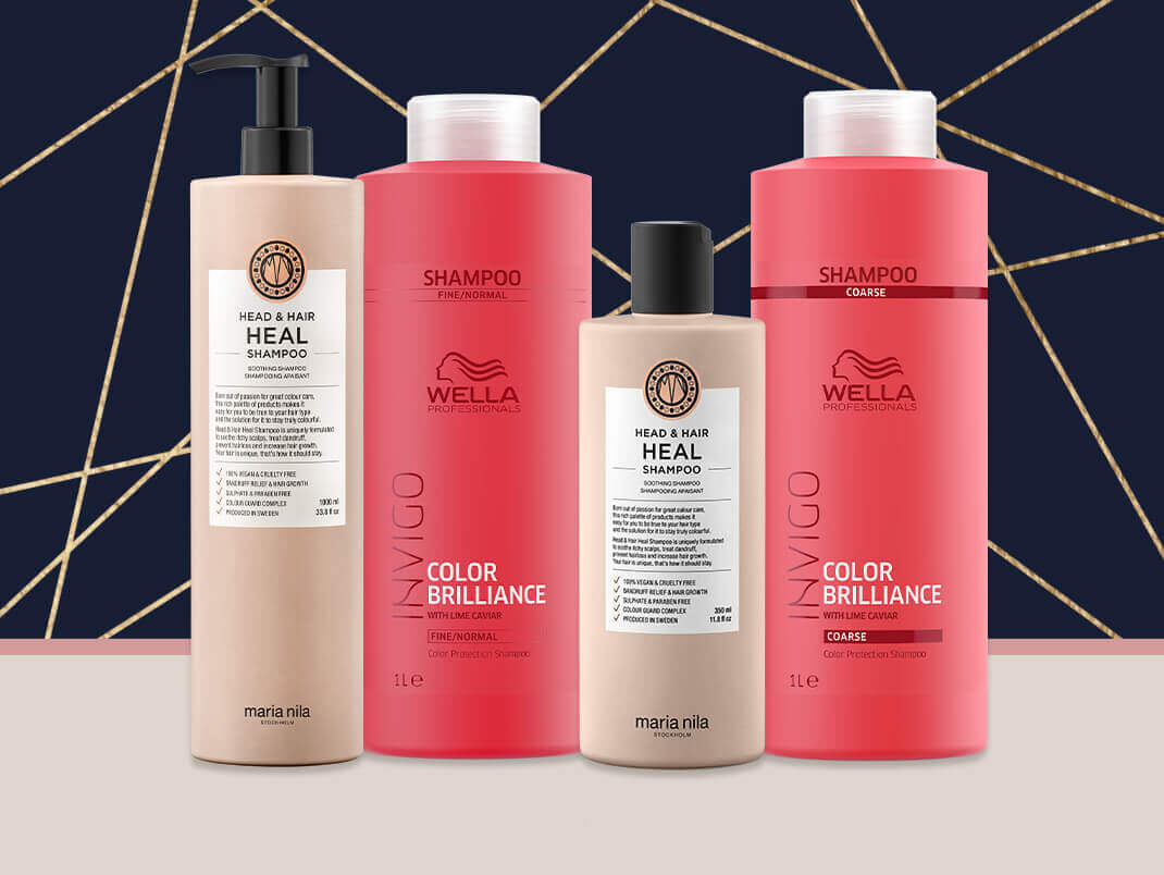 Smooth, soft and shiny, who doesn't love healthy-looking hair. Explore our range of top quality brands including Wella, Maria Nila and Olaplex.