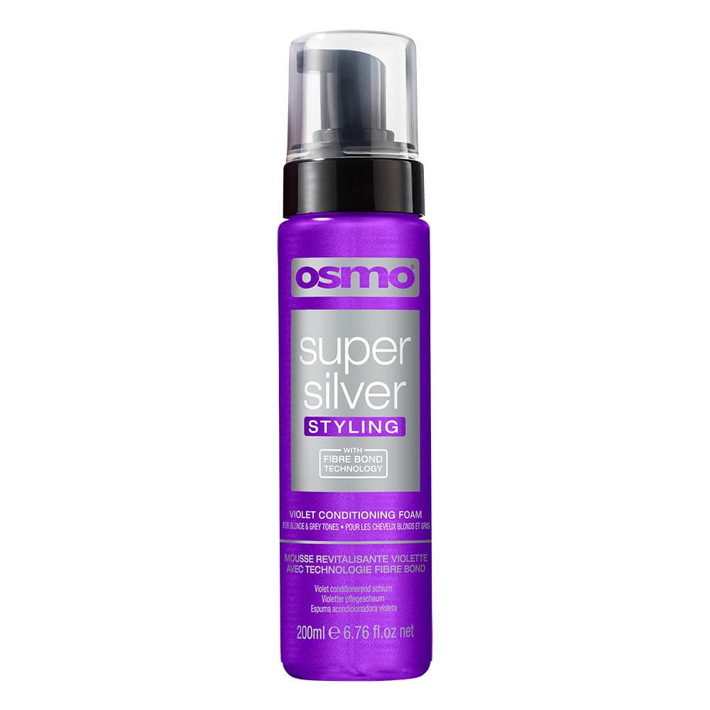 Osmo Super Silver Styling Violet Conditioning Foam 200ml