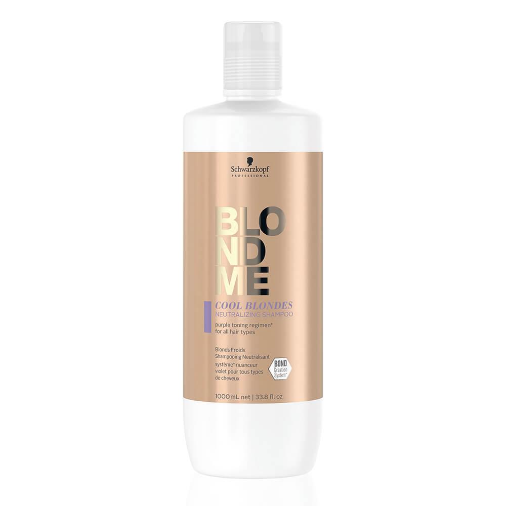 Schwarzkopf Professional BlondMe Cool Blondes Neutralizing Shampoo 1L