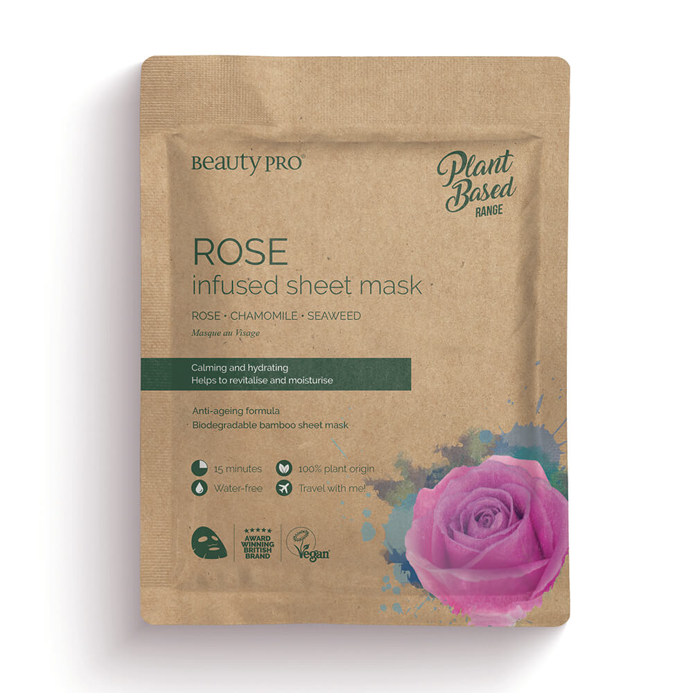 Beauty Pro Natura Rose Infused Sheet Mask 25ml