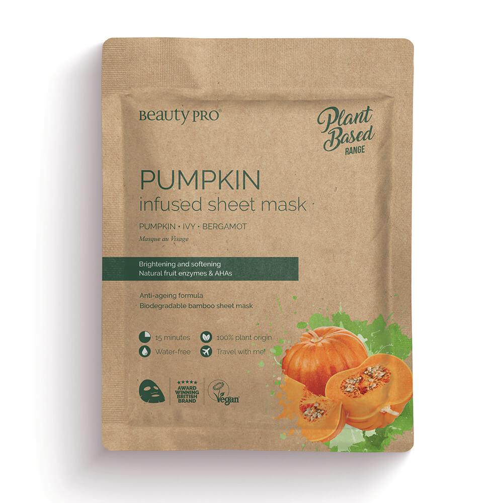 Beauty Pro Natura Pumpkin Infused Sheet Mask 22ml