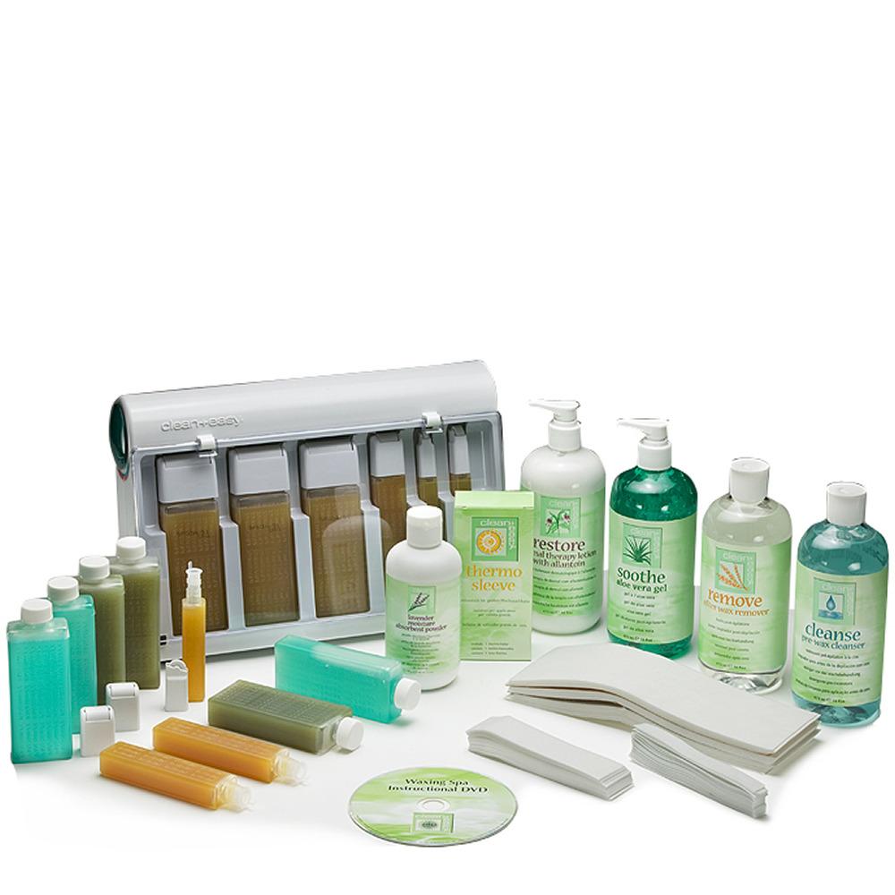 Clean & Easy Waxing Spa Full Kit 240v