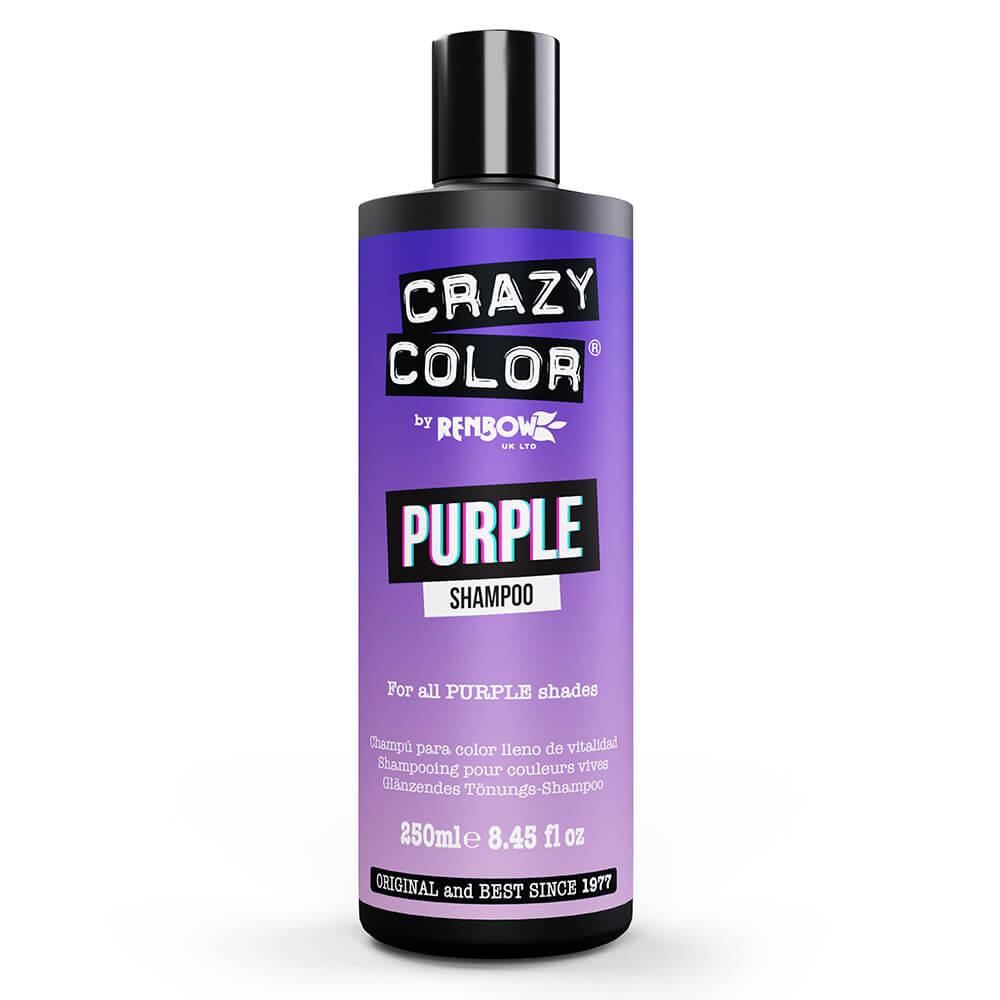 Crazy Color Colour Protect Shampoo - Purple 250ml
