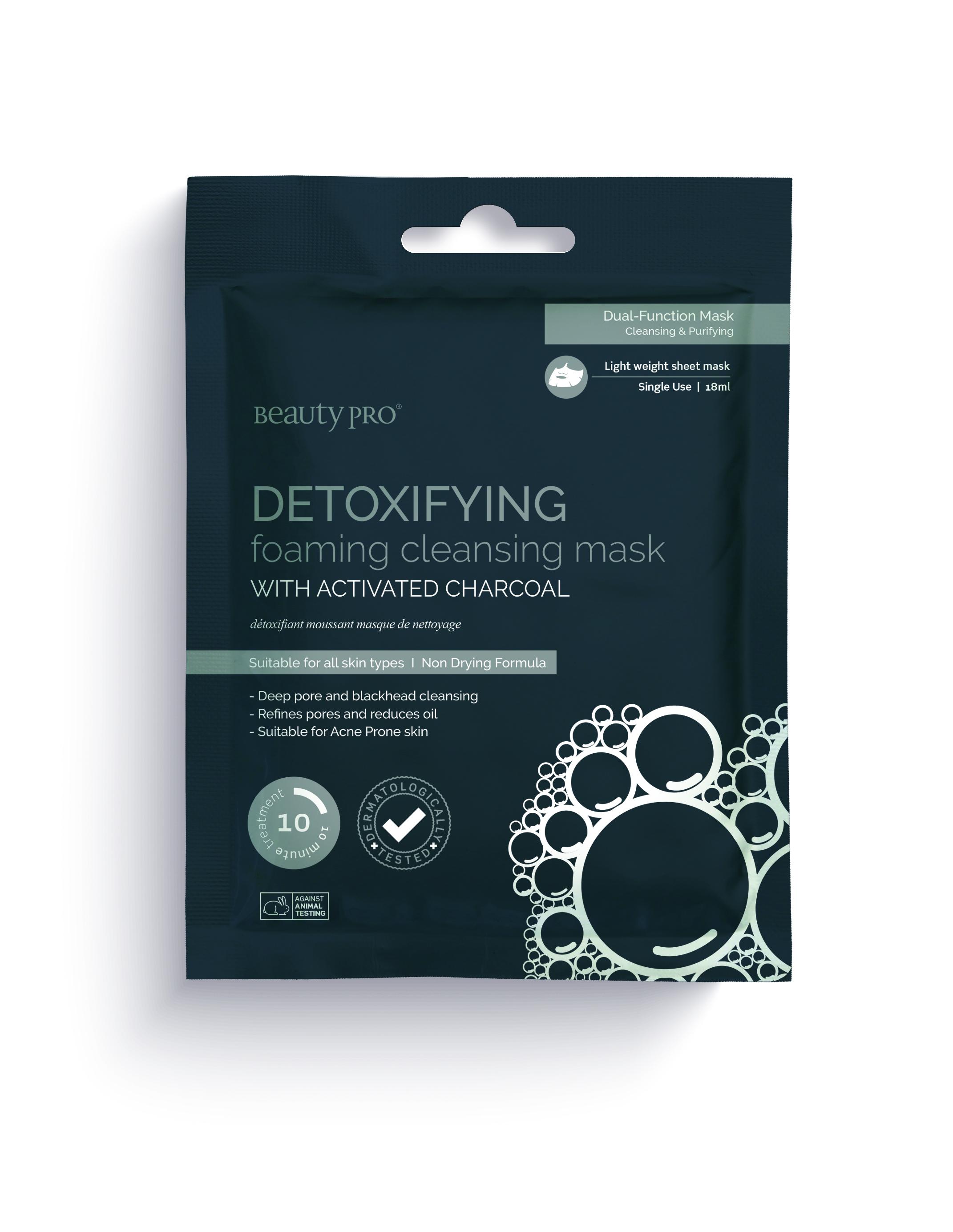 Beauty Pro Detoxifying Cleansing Mask, 18ml