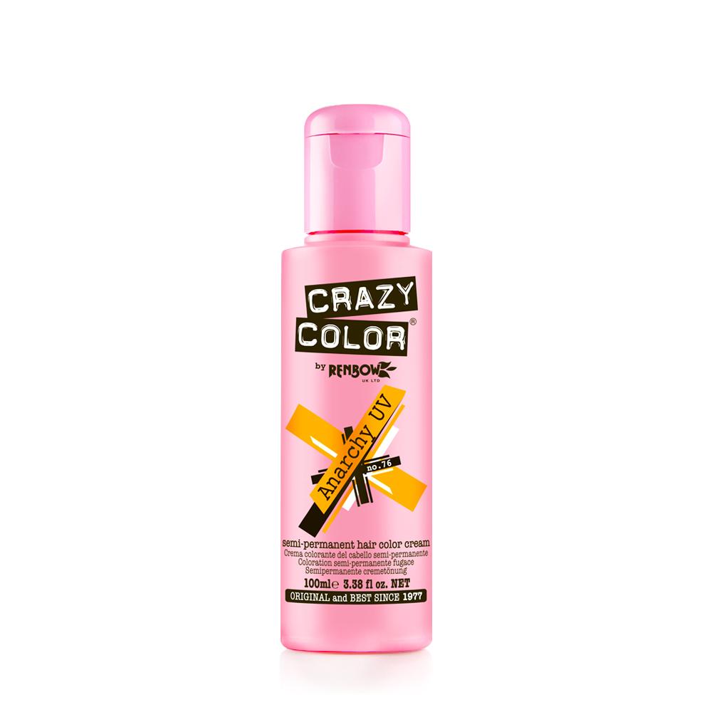 Crazy Color Anarchy Uv Semi Permanent Hair Color Cream Anarchy Uv