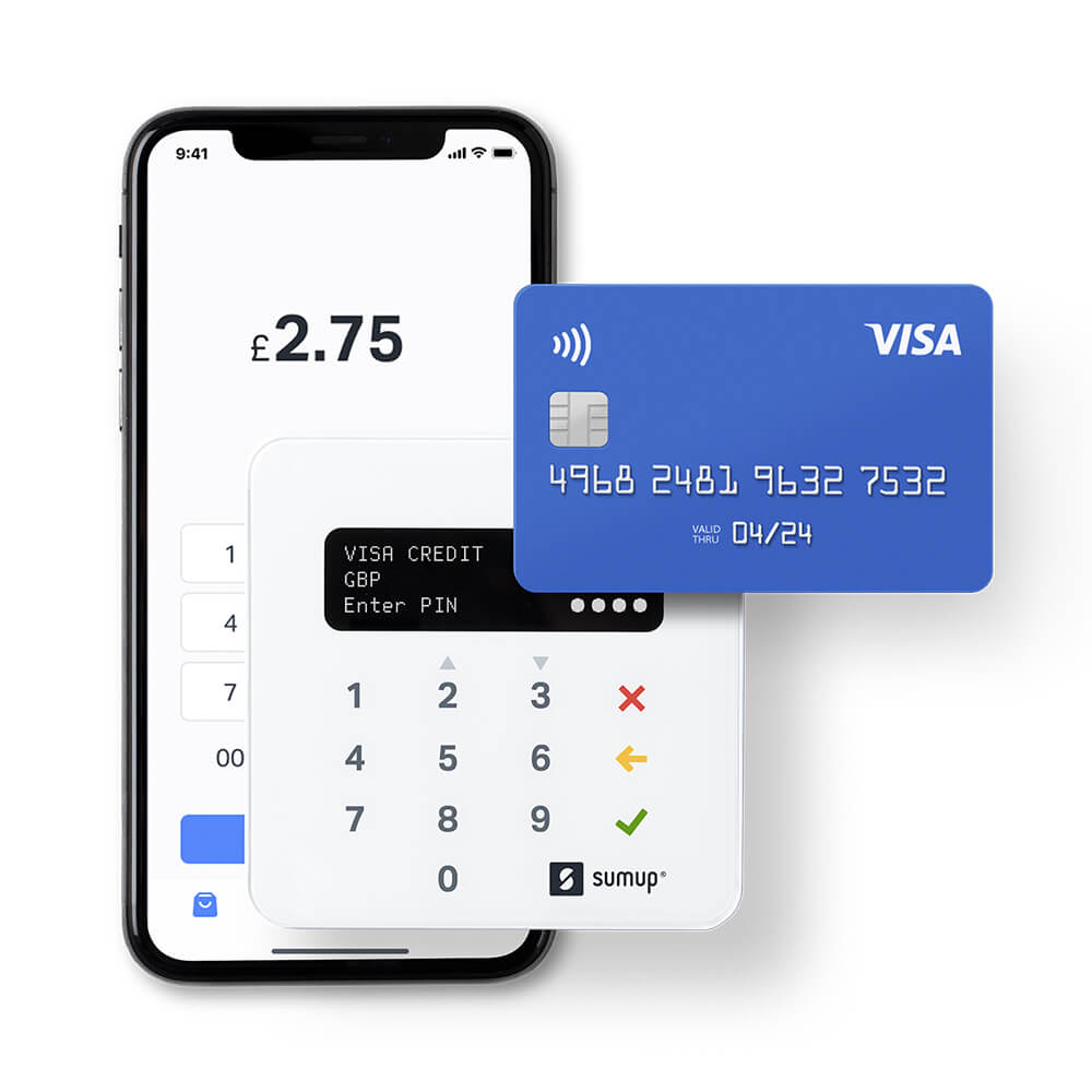SumUp UK Card reader