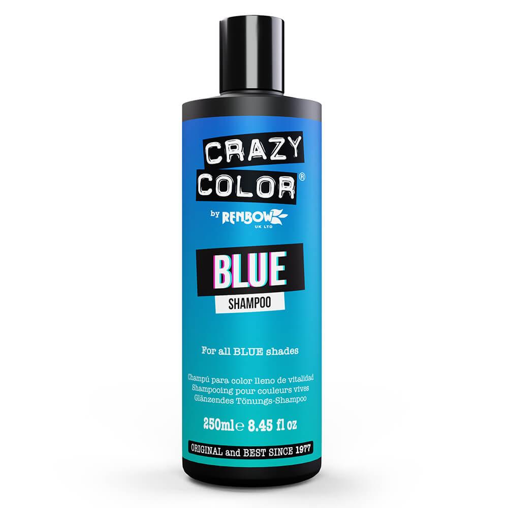 Crazy Color Colour Protect Shampoo - Blue 250ml