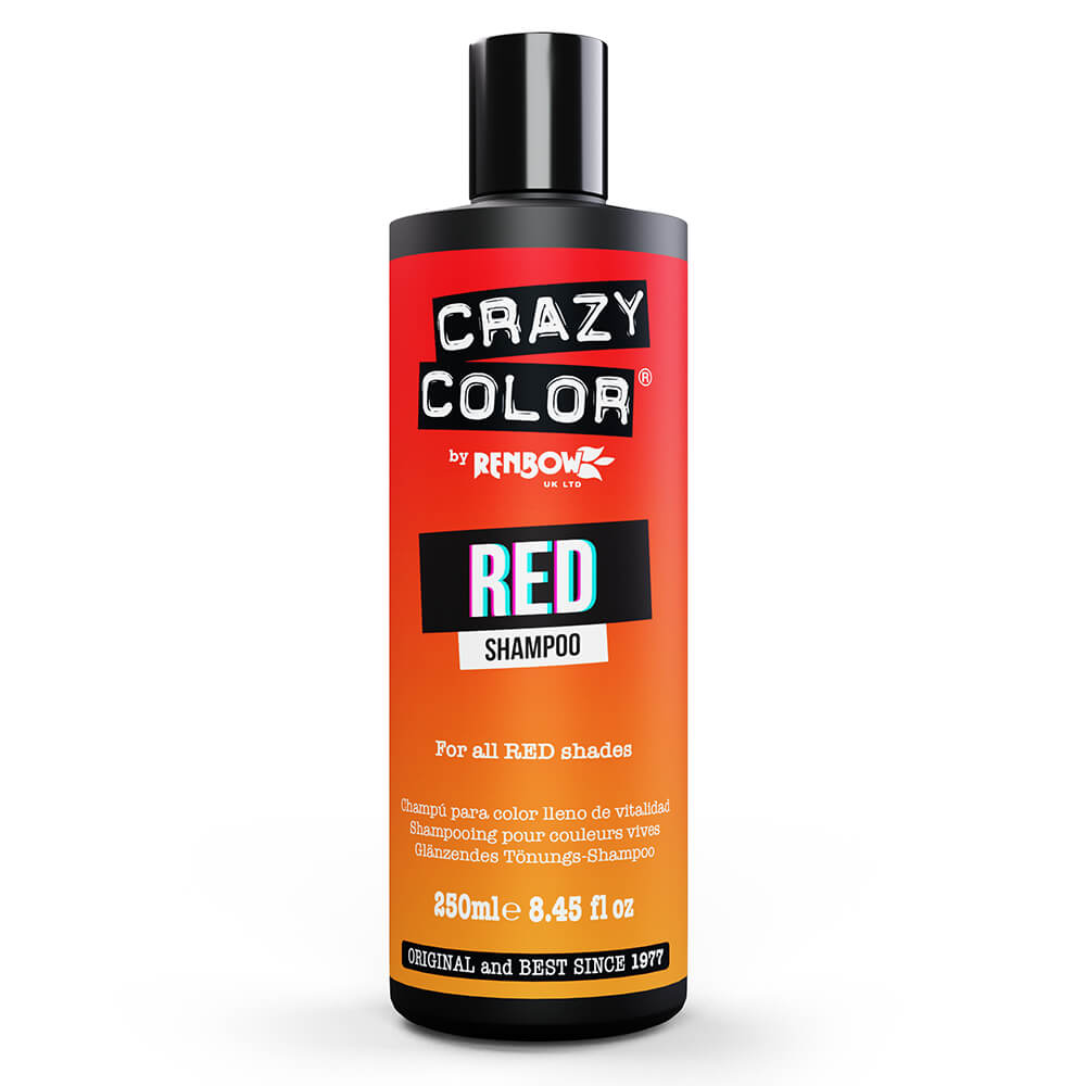 Crazy Color Colour Protect Shampoo - Red 250ml