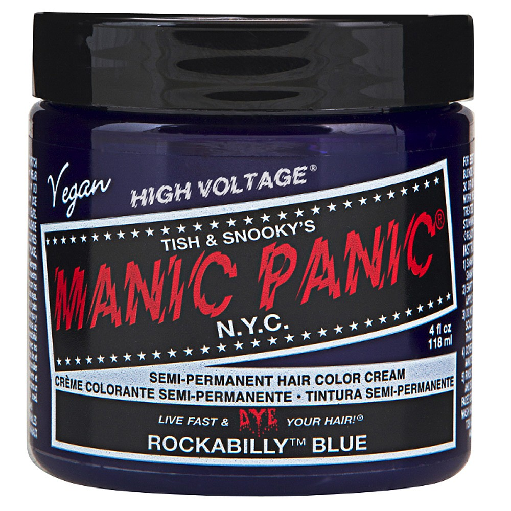 Manic Panic Semi Permanent Hair Colour - Rockabilly Blue 118ml