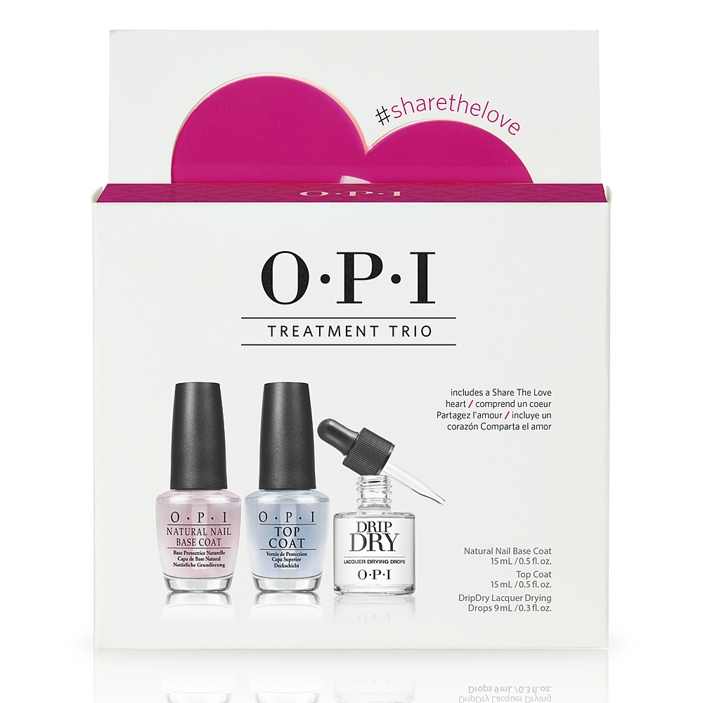 OPI Treat Me Right Treatment Trio | Nail Polish Top & Base Coats ...