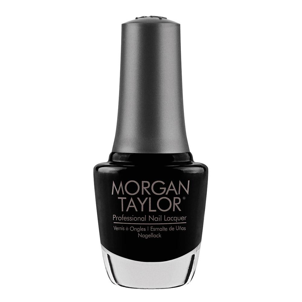 Morgan Taylor Long-lasting, DBP Free Nail Lacquer - Black Shadow 15ml