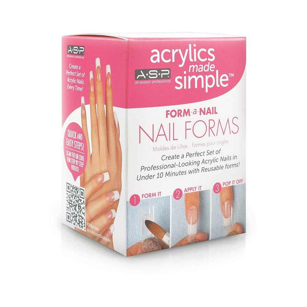 ASP Nail Forms | Acrylic Nail Products | Salon Services