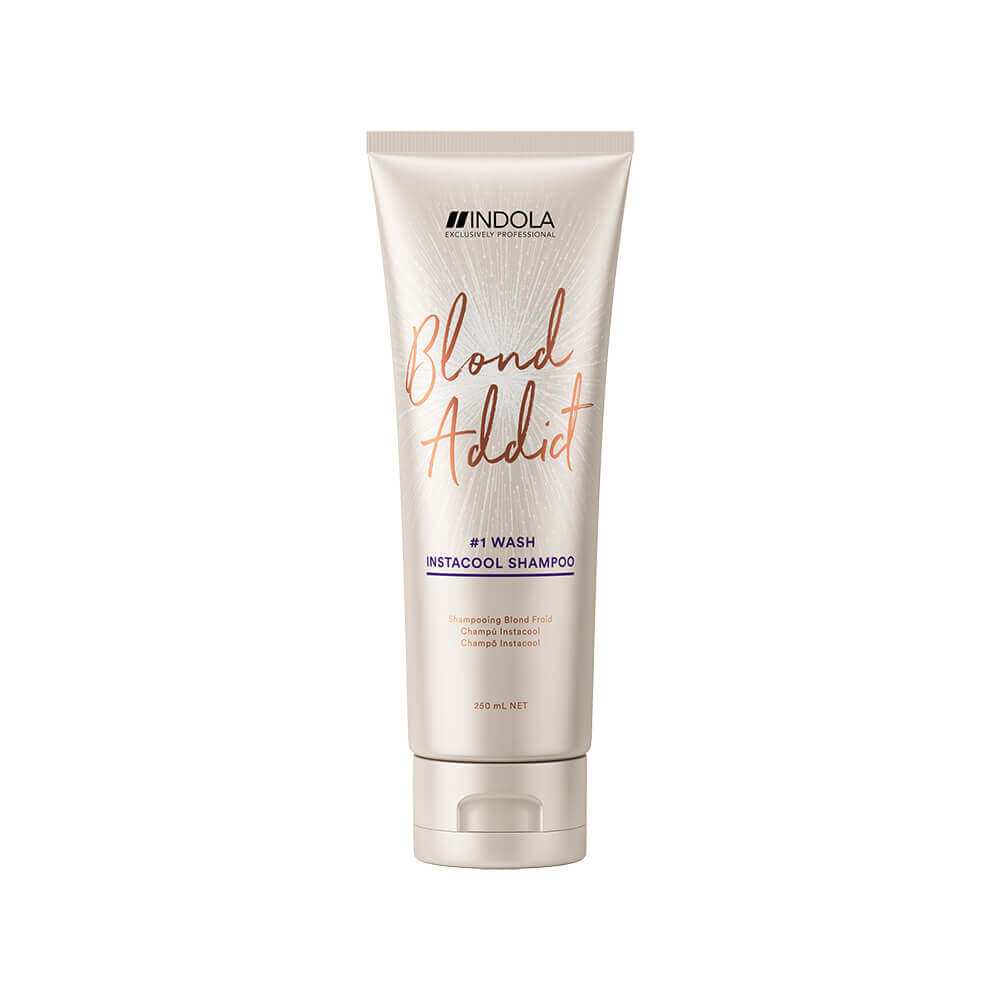 Indola Blond Addict Insta Cool Shampoo, 250ml