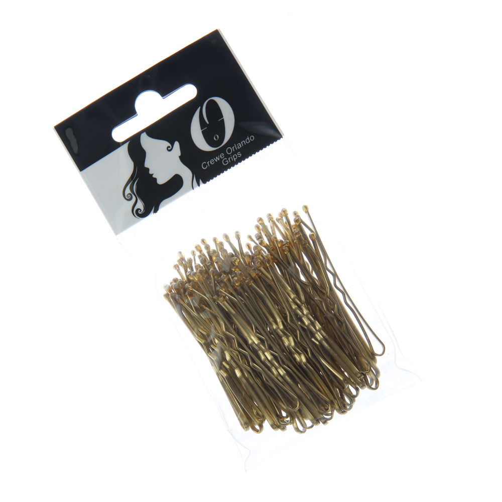 Crewe Orlando 2 Inch Wavy Hair Grips Blonde Pack of 72