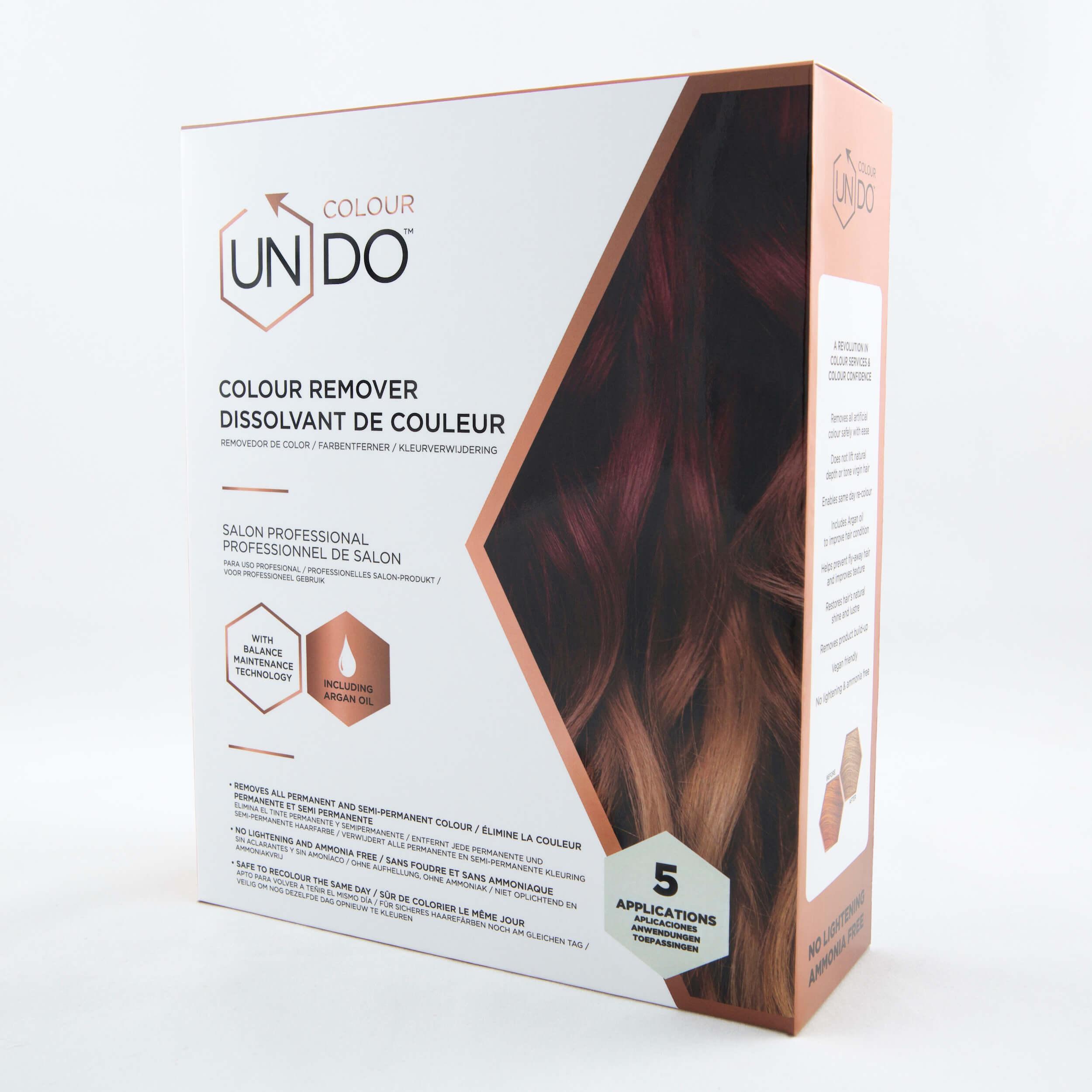 Colour Undo Hair Colour Remover, 5 Application Kit