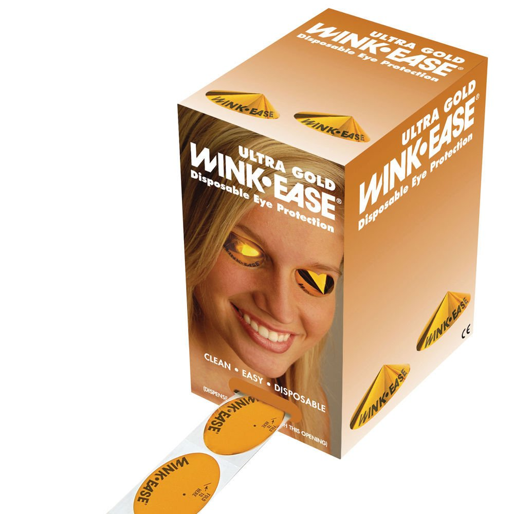 Wink-Ease Ultra Gold Disposable Eye Protection - Pack of 300 pairs