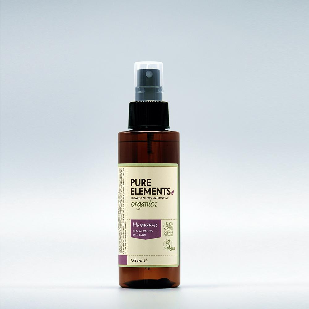 Pure Elements ORGANICS Hempseed Regenerating Oil Elixir 125ml